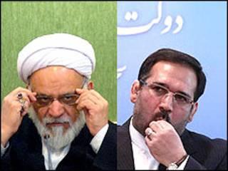 حسینی و مصباحی مقدم (عکسها از مهر و ایکنا)
