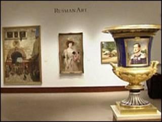 Một cuộc trưng bày tác phẩm Nga ở New York