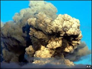 Cinzas vulcânicas