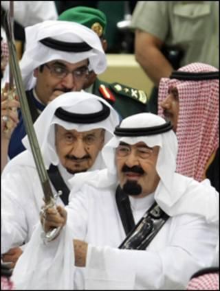 الملك السعودي عبدالله بن عبدالعزيز