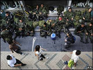 Ejército tailandés.