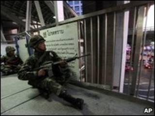 Таиландский солдат