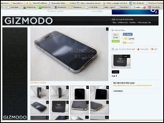 Supuesto prototipo de iPhone 4G. Foto cortesía: Gizmodo.com