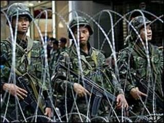 سربازان ارتش تایلند