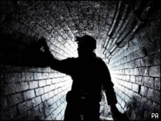 тоннель канализации
