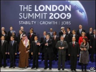 Саммит G20 в Лондоне