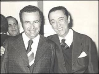 Osório Adriano Filho e JK