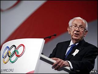 अंतरराष्ट्रीय ओलंपिक समिति के पूर्व अध्यक्ष हुआन अंतोनियो समारांच