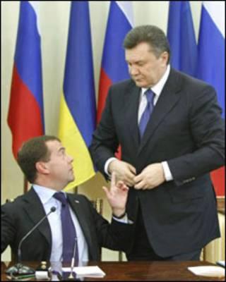 Янукович і Мєдвєдєв