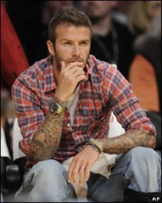 David Beckham, cầu thủ của Galaxy đá tạm cho AC Milan