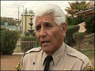 Tony Estrada, alguacil de Nogales, Arizona