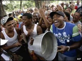 古巴親政府民眾