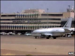 هواپیمای عراقی در گتویک لندن