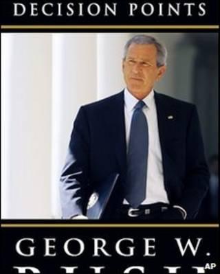 روی جلد کتاب خاطرات جورج بوش