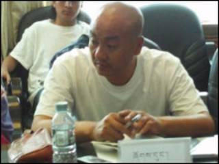 藏族作家扎加(Tagyal) (國際西藏郵報圖片)