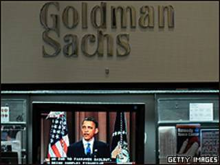 Goldman Sachs y Barack Obama