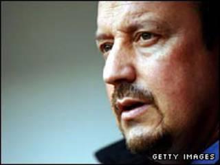 利物浦主教练贝尼特斯