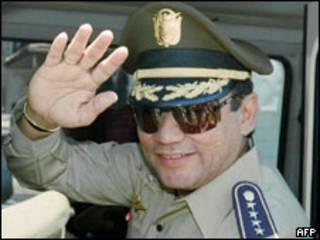 El ex general panameño Manuel Antonio Noriega