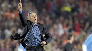 Bầu Jose Mourinho của Inter