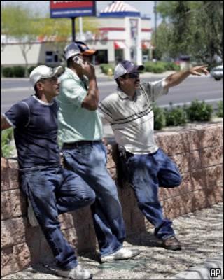 Imigrantes ilegais mexicanos em Fênix, Arizona