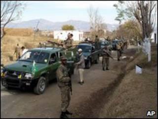 جنود باكستانيون في وادي سوات