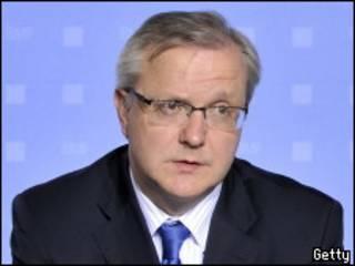 El comisario europeo de Asuntos Económicos y Monetarios de la UE, Olli Rehn.