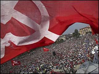 नेपाल में माओवादियों का हड़ताल