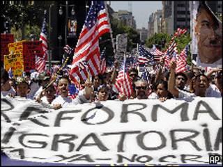 Protesto em Los Angeles