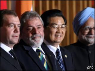 Presidentes del BRIC