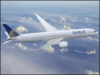 Avião da United
