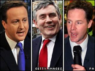 प्रधानमंत्री पद के तीन दावेदार