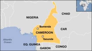 Ramani ya Cameroon