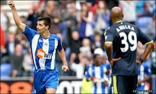 Wigan cũng muốn lập lại kỳ tích trận lượt đi, thắng Chelsea 3-1 trên sân DW Stadium đầu mùa giải