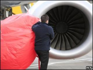 Turbina de avión