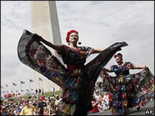 Celebración del Cinco de Mayo en Estados Unidos.