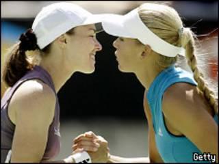 Хингис и Курникова дважды побеждали на Australian Open в парном разряде