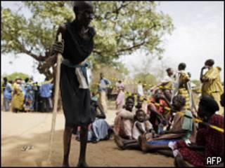 عجوز من جنوب السودان