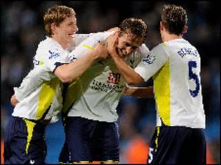 'Yan wasan kungiyar Tottenham