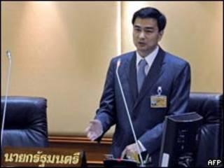 Primer ministro tailandés, Abhisit Vejjajiva