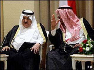 وزیر کشور عربستان و وزیر کشور کویت