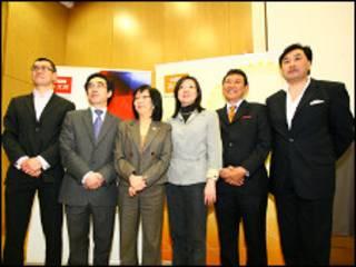 华裔候选人
