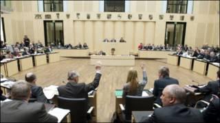 यूरोपीय संघ की बैठक