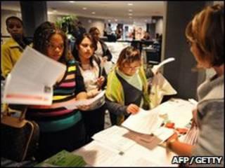 Feira de empregos em Los Angeles