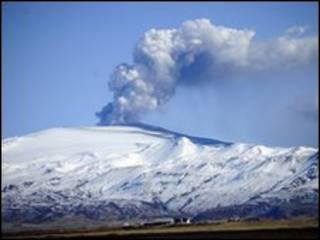 السحابة البركانية