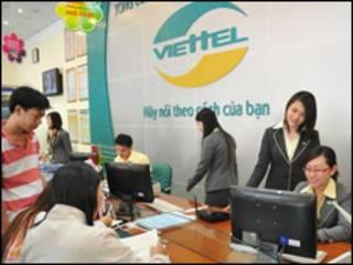 Trung tâm khách hàng của Viettel (ảnh của Viettel)