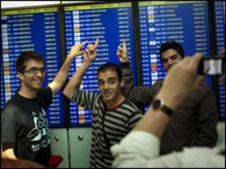 Aeroporto em Barcelona