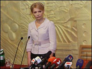 Юлія Тимошенко, проти якої заново відкрито карну справу, каже, що нова влада переслідує її з політичних мотивів