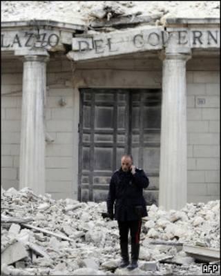 Землетрясение в Аквиле