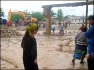 Жители пострадавших районов