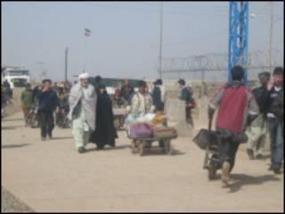 له ايرانه ويستل شوي افغان کډوال